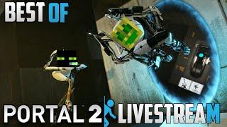 Best of ArazhulHD ft. Chaosflo44 - Portal 2 Livestream