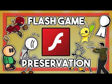 Flash Game Preservation