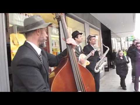 Jazz Buskers  England Exeter city