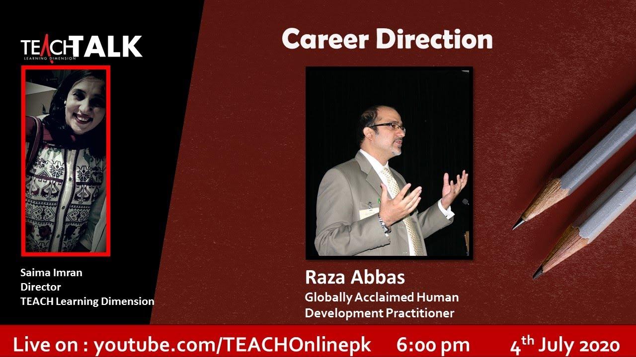 TEACH Talk - Career DIrection