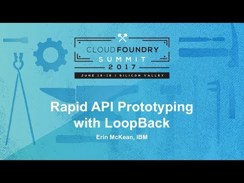 Rapid API Prototyping with LoopBack
