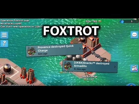 Foxtrot Unboosted Armadilllo & Quick Charge (5 man)