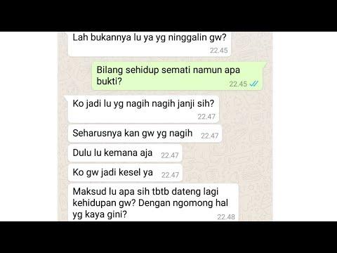 Prank Text pake lagu Via Vallen - Sayang (Versi. Bahasa Indonesia) | Baper Parah