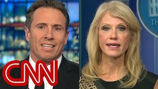 Chris Cuomo and Kellyanne Conway spar over border wall funding