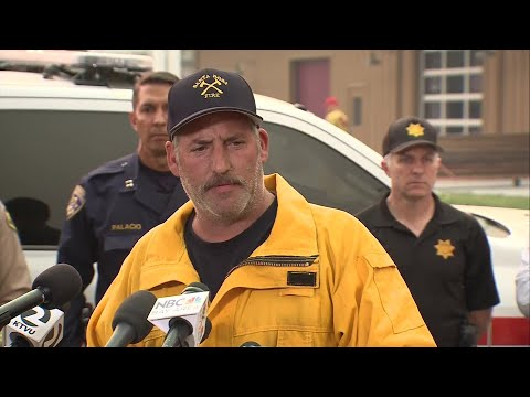RAW: Sonoma And Napa County Officials Say Zero Containment Of Wine Country Fires