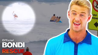 Rip Current Pulls Teenagers and Mum Out to Sea *SEASON 15 Clip*
