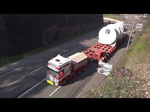 Convois Straumann et Brame, Turbines à gaz GE de 303,3t et 301,3t, 16/03/17 Copyright Manugo