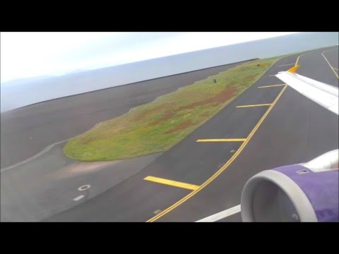 POWERFUL! Monarch Airbus A321 Take Off From Funchal, Madeira | 20/03/17