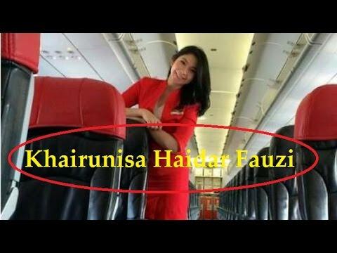 Profil KHAIRUNISA PRAMUGARI CANTIK AIR ASIA Yang Hilang 28 Des 2014
