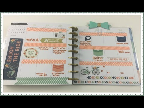 PLAN WITH ME | DOLLAR TREE STICKERS | Monthly + Weekly