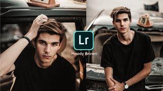 How To Edit MOODY BROWN - Lightroom Mobile Tutorial