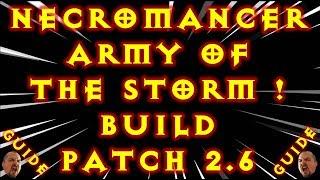 Video Diablo 3 Necromancer Army of The Storm Build! Gr Solo Patch 2.6 download MP3, 3GP, MP4, WEBM, AVI, FLV September 2017