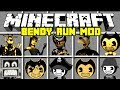 Minecraft Bendy And The Ink Machine Mod Bendy Boris Alice Angel More Modded Minigame mp3