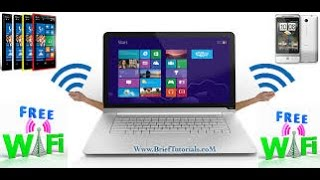 Convert Your PC Laptop into a Free WiFi Hotspot (XP, Win 7 & 8)