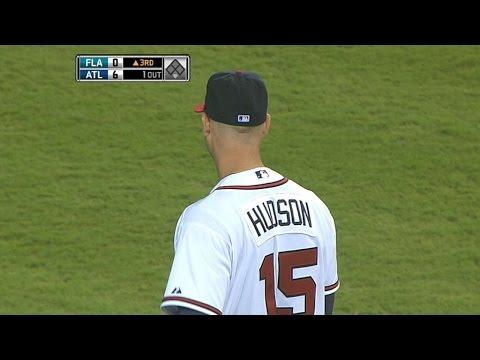 Hudson strikes out a career-high 13