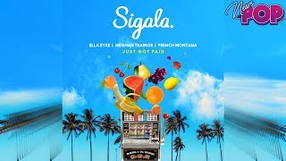 Meghan Trainor en Just Got Paid feat. SIGALA, Ella Eyre & French Montana