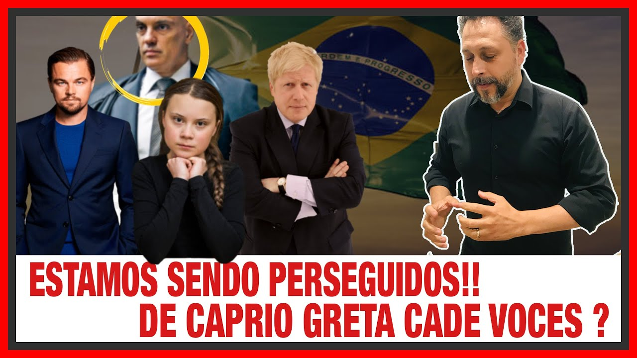 Não é POSSÍVEL! Estamos sendo PERSEGUIDOS! DiCaprio GRETA cadê VOCÊS? UK LOCKDOWN não é DESCARTADO!