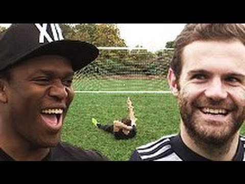 JUAN MATA VS KSI VS JMX | BLIND FOLDED PENALTIES