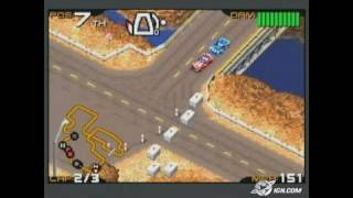 Racing Gears Advance Game Boy Gameplay - In the desert