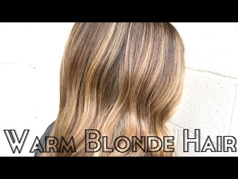 How To: Warm Blonde Hair| Hair Tutorial thumbnail