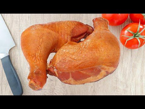 Как Вкусно Закоптить Бройлера, Курицу