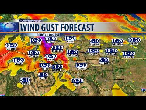 Winds to cause trouble Friday