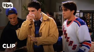 Friends: Ross gets rushed to the Emergency Room (Season 1 Clip) | TBS