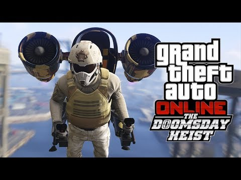 GTA V HEIST DO JUIZO FINAL #20 O FINAL,Base Secreta Dentro do Monte Chiliad a Perseguição de Jetpack