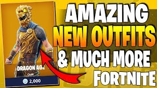 AMAZING *NEW* FORTNITE OUTFITS & WEAPONS! - v3.2.0 Leaked Cosmetic Items & Weapons