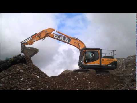 DRS Demolition's Hyundai 220LC-9A excavator
