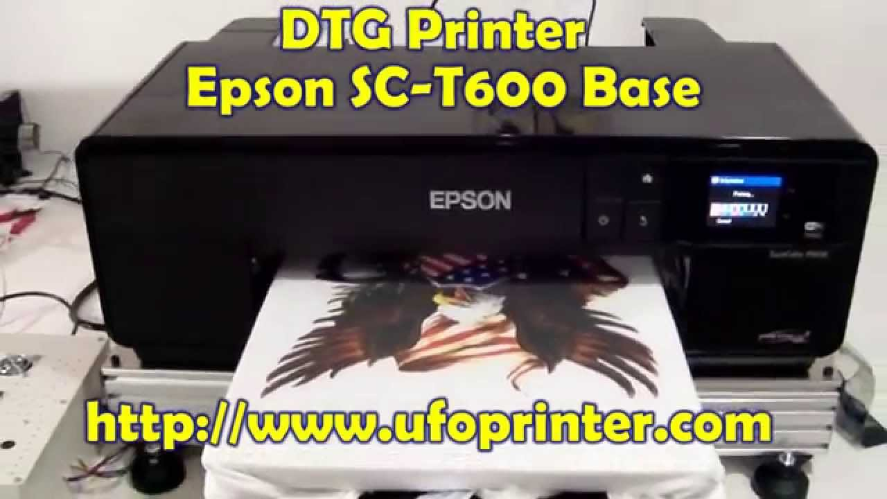 P600 Epson Shirt Printer T Youtube Sc Dtg bfyvIY6g7