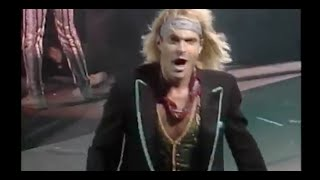 Worked hard on editing a live track of david lee roth's goin crazy top pro-shot originally shown in toshibas- 1988 roth special (skyscraper...