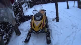 Обзор Снегохода Тикси. 250 Люкс.