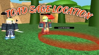 TOAD SAGE MODE LOCATION! | NRPG Beyond | ROBLOX