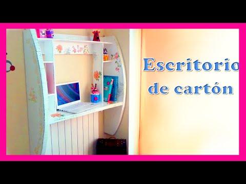 Mueble De Pared Hecho Con Carton Diy Tutorial Paso A Paso