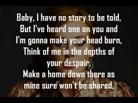 Adele - Rolling In The Deep ( HD / HQ ) With Lyrics
