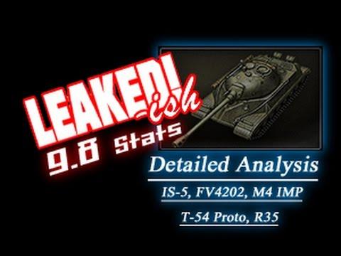 LEAKED!-ish - 9.8 Detailed Analysis of Upcoming Premium Tanks || World of Tanks