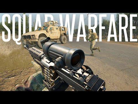 REALISTIC FIERY WARFARE! - Squad 40 vs 40 Gameplay |