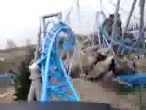 Blue Fire - Onride  POV - Front Row