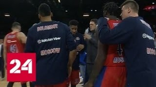 Баскетболисты ЦСКА вышли в финал Евролиги - Россия 24
