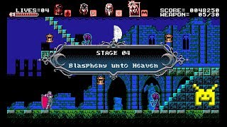 Let's Play Bloodstained: Curse of the Moon: Blasphemy unto Heaven (4/8)