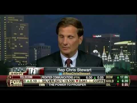 Rep. Stewart on Fox Business: Regulatory Agencies Shouldn't Have Paramilitary Units