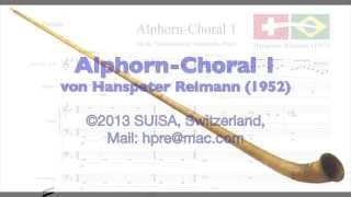 Alphorn Choral 1 von Hanspeter Reimann mit Orgel