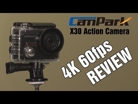 CamPark X30 Action Camera Review