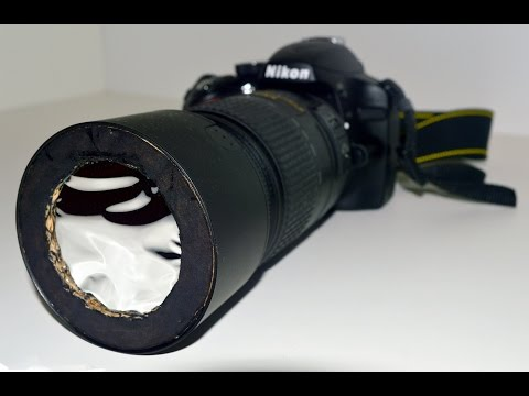 How to Make a Solar Filter for a Camera