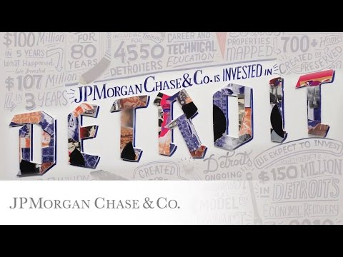 Detroit's Road to Recovery | #InvestInDetroit | JPMorgan Chase & Co.