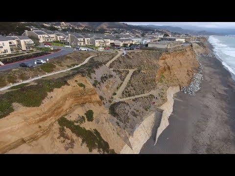 Pacifica Coastal Erosion 310 Esplanade Beach Path