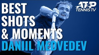 Daniil Medvedev's Best Shots & Moments In Title Run | Shanghai 2019