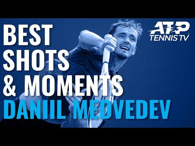 Daniil Medvedev's Best Shots & Moments In Title Run | Shanghai 2019