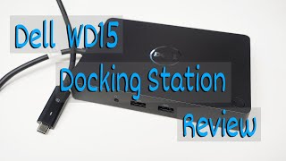 Dell WD15 docking port review with Macbook Pro with touchbar